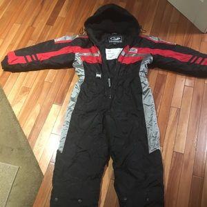 One piece snow suit, size L/12